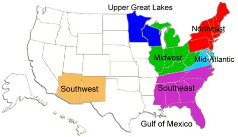 us map mid atlantic region ready u s forecast trajectories