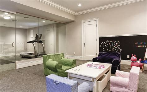 how to transform your basement into a colorful