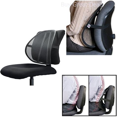 lumbar support  office chair car mesh  pain relief