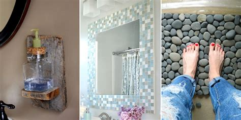 diy ideas for bathroom 20 easy diy bathroom decor ideas