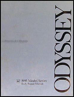 service manuals schematics 1995 honda odyssey user handbook 1995 1998 honda odyssey body repair shop manual original