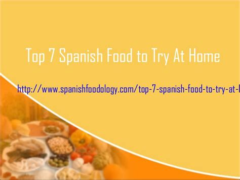 top 5 food to try at home