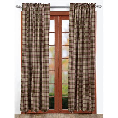plaid drapes window treatments jackson plaid curtains www bestwindowtreatments com