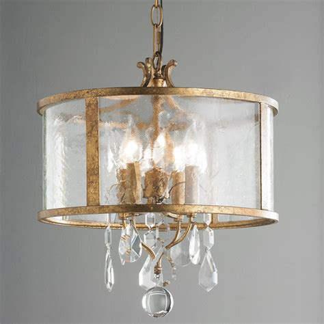 Mini Shade Chandelier Vintage Modern Mini Chandelier Vintage Modern Drum Shade And Antique Gold