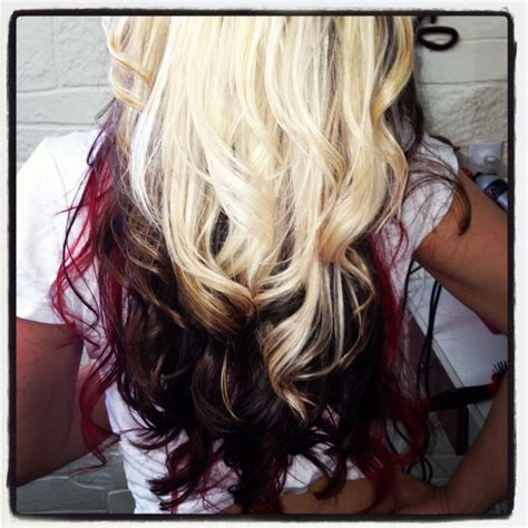 tri layer of dying hair tri color paneling hair by jehnyfer salon 8 hair