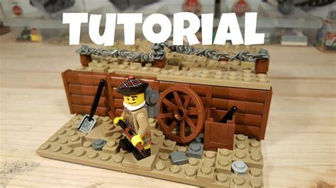 lego ww2 tutorial lego trench tutorial youtube