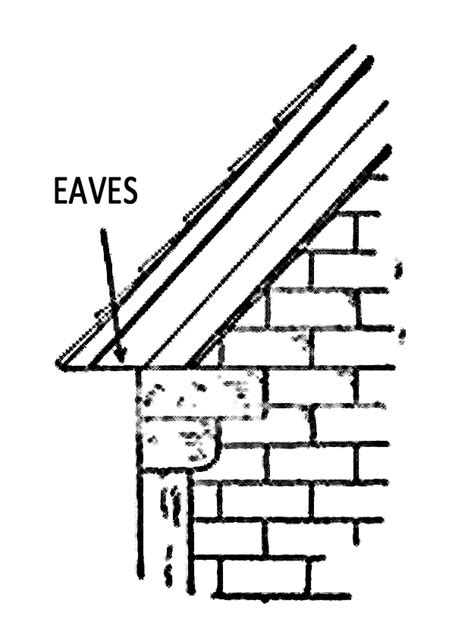Ceiling Eaves by Roof Eaves Help Houses Breathe And Walls Stay