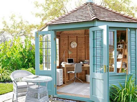 she shed office these she sheds are a perfectly serene escape
