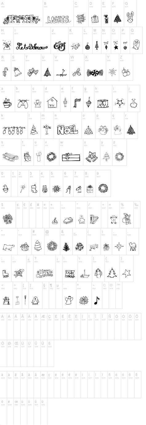 dafont xmas janda christmas doodles font dafont com