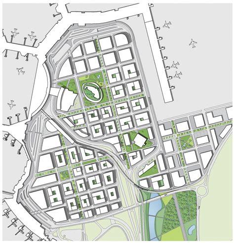 urban design proposal architecture photography airport city stockholm urban