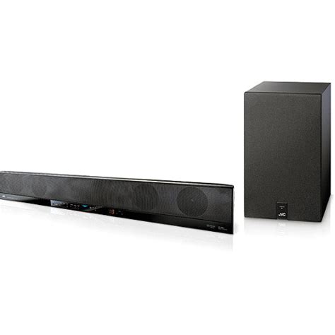 jvc th ba1 4 1 channel soundbar home theater sound system