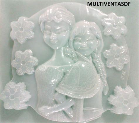 como hacer moldes para gelatinas molde jumbo para gelatina figura ana y elsa frozen
