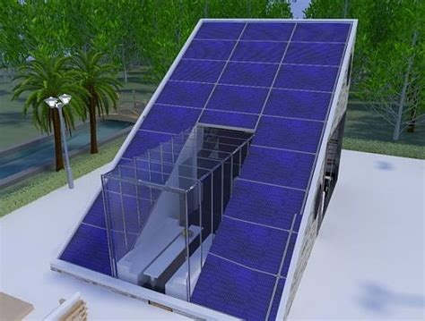 solar energy house relies entirely on resources