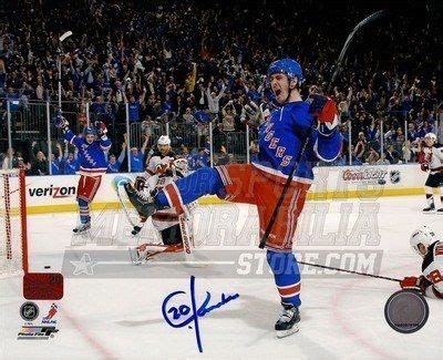 9 goals the new york rangers once in a lifetime miracle finish books chris kreider new york rangers signed autographed 8x10