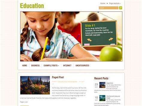 education theme blogspot 18 free education wordpress themes 2018