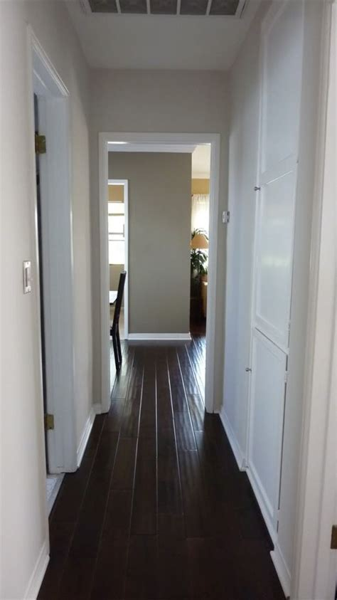 the wide wood floors in a hallway like the one i to really soon home