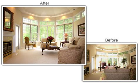 before and after staging home staging photo gallery