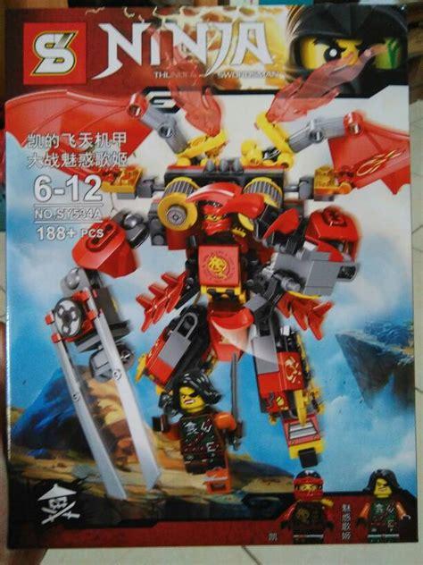 Film Robot Terbaru 2016   jual lego robot ninjago kai terbaru 2016 toko jo leather