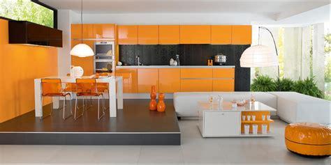 deco cuisine orange d 233 coration cuisine orange