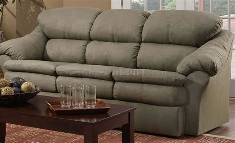 sage microfiber sofa sage microfiber modern casual sofa loveseat set w wooden