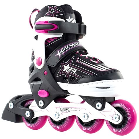 Inline Skate sfr inline skates pulsar adjustable pink sfr