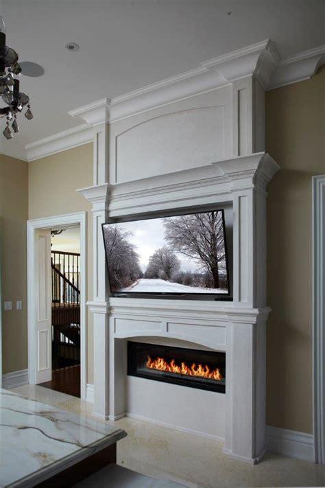 york linear fireplace mantel transitional kitchen