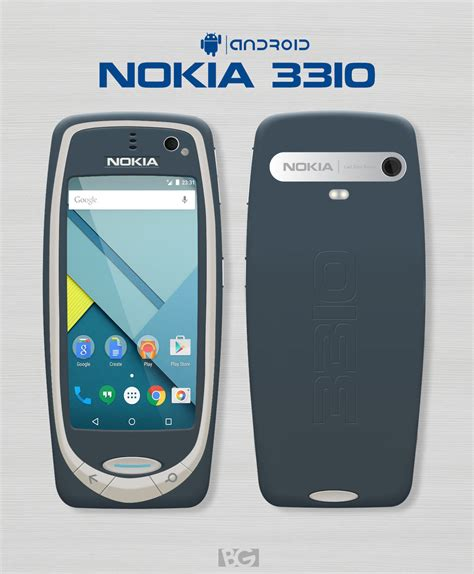 nokia android is nokia 3310 coming with android no it is not