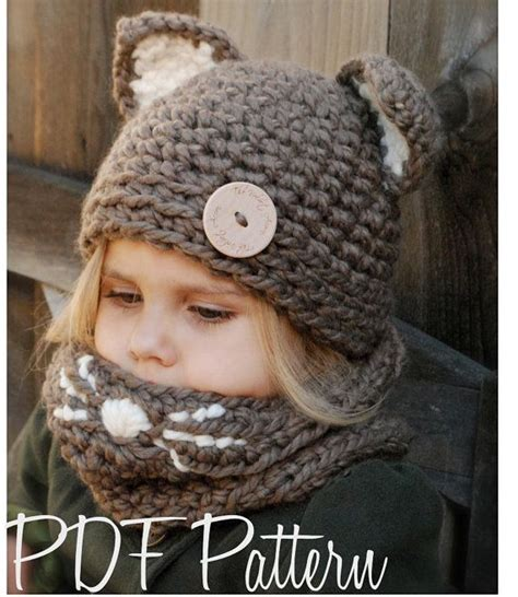 Diy Mit Kindern 4659 by Crochet Pattern The Camille Cat Set Toddler Child And