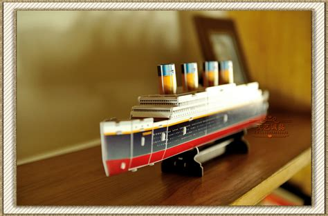 Papercraft For Sale - popular paper model titanic buy cheap paper model titanic