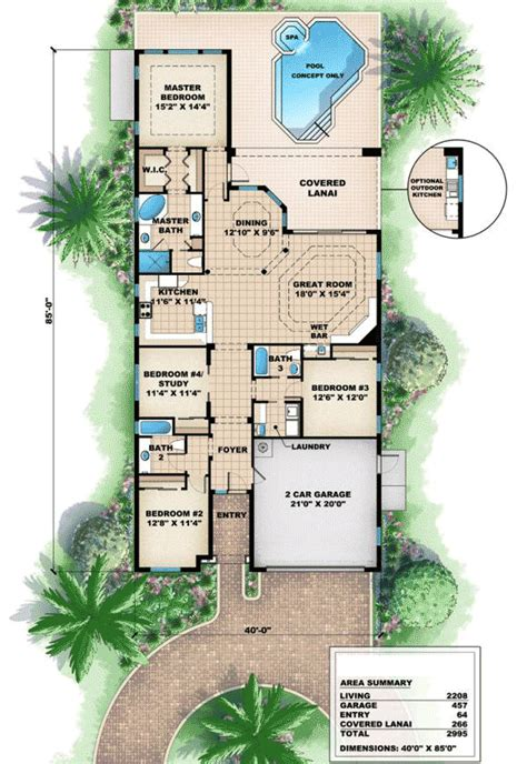 mediterranean bungalow house designs mediterranean bungalow plan 66058we architectural