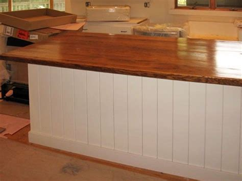 Tung Countertop by Wood Countertops Reclaimed Oak With Rich Patina