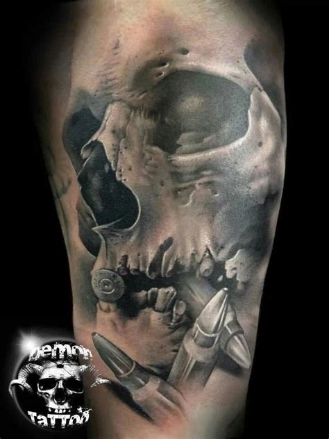 tattoo gallery picture skull demon tattoo images designs