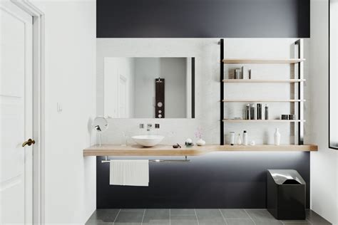 modern bathroom vanities  overflow  style