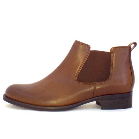 brown leather boots for gabor boots zodiac brown leather ankle boots mozimo