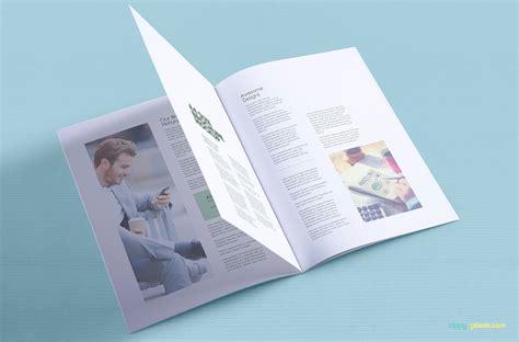 free design mockup brochure deeziner free a4 brochure mockup psds deeziner