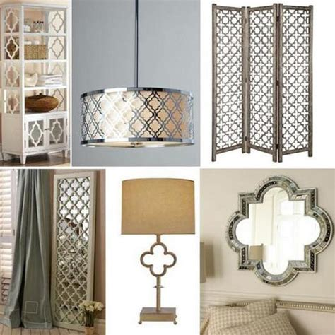 quatrefoil home decor fabulous decorative patterns adding interest to modern