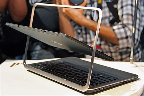 Laptop Dell Xps Duo 12 dell unveils xps duo 12 xps 10 tablet notebook hybrids xps one 27 aio pc at ifa 2012