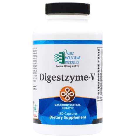 supplement boutique ortho molecular digestzyme v 180 capsules the