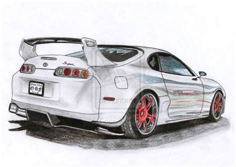 toyota supra drawing 16 best images about supra drawings on