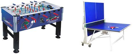 tavoli ping pong offerte offerte calcio balilla e tavolo ping pong jolly sport