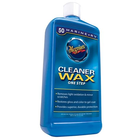 boat cleaner wax meguiar s boat rv one step cleaner wax 50 m5032 32 oz