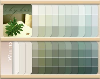 behr fan deck color selector hence the paint shaded greens
