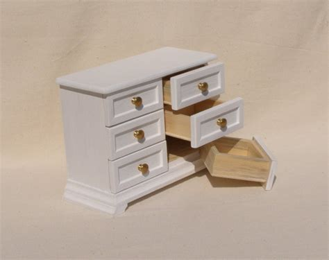 Chest Of Drawers 12 Inches by 1 6 Scale Miniature Dollhouse Dresser Chest Of Drawers For