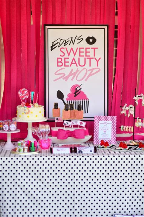 birthday themed makeup sweet beauty make up shop birthday party