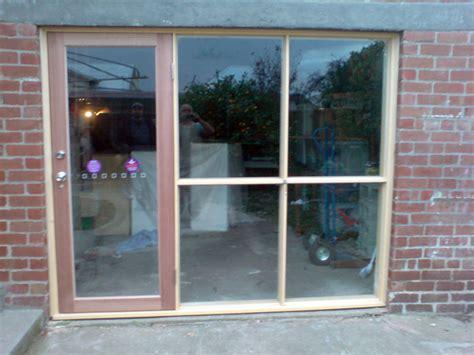 convert garrage door to windows windows