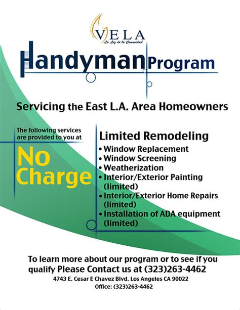 24 Beautiful Handyman Flyer Templates Sle Templates Free Handyman Templates