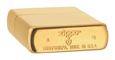 Zippo Brushed Brass With Solid zippo armor brushed brass pocket lighter sports in the
