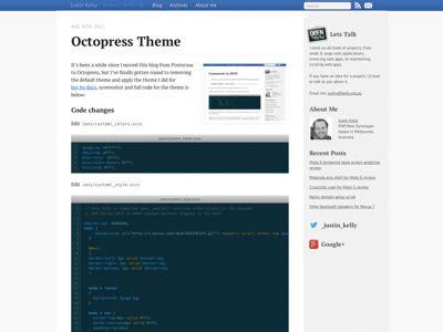 Jekyll Themes Octopress | octopress themes