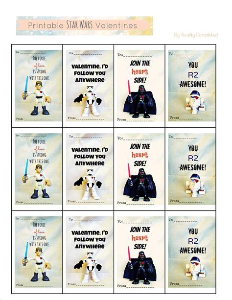 printable card wars freshly completed printable star wars valentines