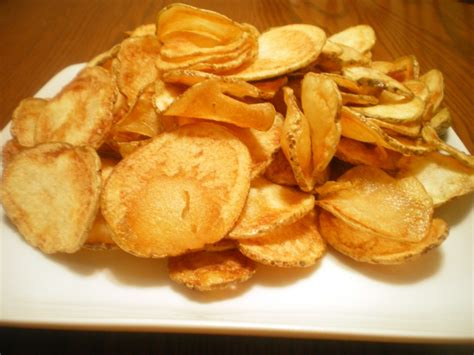 Handmade Chips - potato chips recipe dishmaps